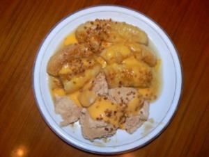 Banane mit Honig gebraten - Rezept