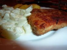 Fisch: Viktoriabarsch mit Gurkengemüse - Rezept