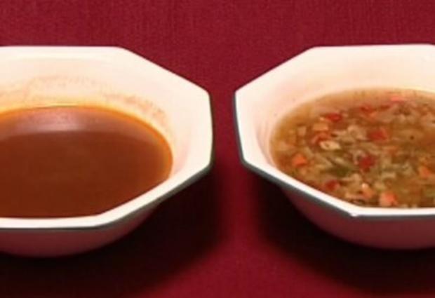 Ochsenschwanzsuppe oder Gemüsesuppe (Rob Green) - Rezept