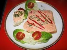 Toast mit Eier-Paprika Aufstrich - Rezept
