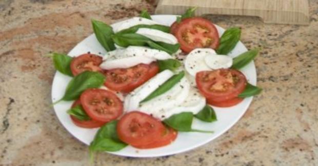 Tomate-Mozzarella (Ralf Moeller) - Rezept