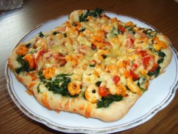 "Pizza ""Hochgebirge"" - Rezept"