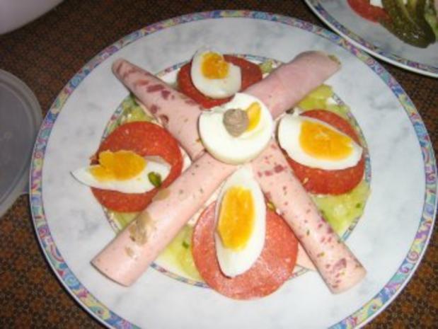 Russische Eier - Variante von Rosa - Rezept - Bild Nr. 5