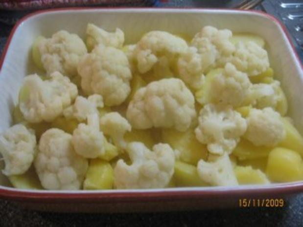 Blumenkohl-Kartoffel-Auflauf Vegetarisch - Rezept - Bild Nr. 4
