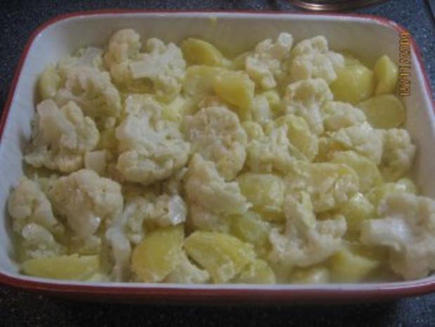 Blumenkohl-Kartoffel-Auflauf Vegetarisch - Rezept - Bild Nr. 5