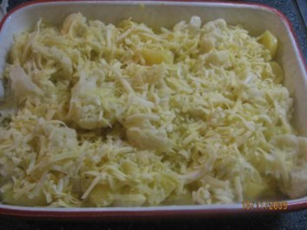Blumenkohl-Kartoffel-Auflauf Vegetarisch - Rezept - Bild Nr. 6