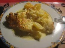 Blumenkohl-Kartoffel-Auflauf Vegetarisch - Rezept
