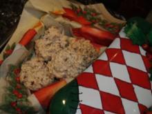 Weihnachtsplätzchen: Stracciatella-Kokos-Häufchen - Rezept