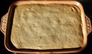 Auflauf süss - Apfel-Kokos-Amarettini-Auflauf mit Rosinen - Rezept