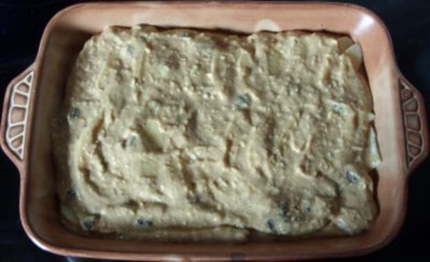 Auflauf süss - Apfel-Kokos-Amarettini-Auflauf mit Rosinen - Rezept - Bild Nr. 5