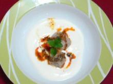 Türkische Ravioli mit Hack und Joghurt-Minzsoße - Rezept