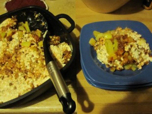 Kartoffelauflauf mit Kohl, Lauch und Tatar - Rezept - Bild Nr. 5