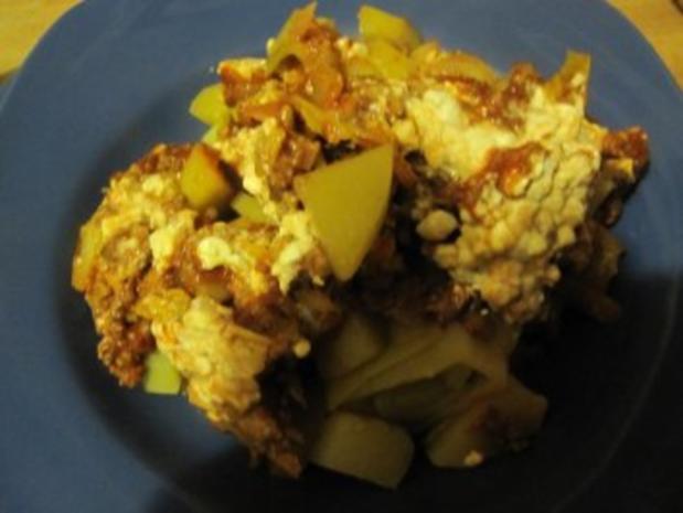 Kartoffelauflauf mit Kohl, Lauch und Tatar - Rezept - Bild Nr. 6