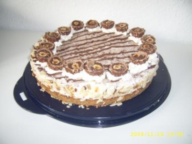 Rocher - Torte - Rezept