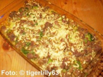 Hackfleisch-Brokkoli-Auflauf - Rezept