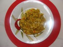 Beilage : -Scharfer Curryreis mit Lauchzwiebeln- - Rezept