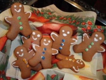 Rezept: Weihnachtsplätzchen: Lebkuchen-Männchen