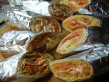 Wraps mit Lachs - Rezept