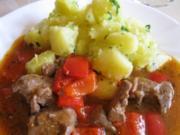 Patatas al ajillo - Knoblauchkartoffeln - Rezept