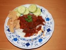 Asiatischer Rindergulasch aus dem Wok - Rezept