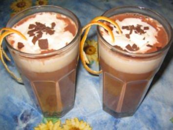 Heiße Orangenschokolade - Rezept