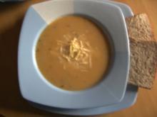 Suppen: Garnelen-Lauch-Suppe - Rezept