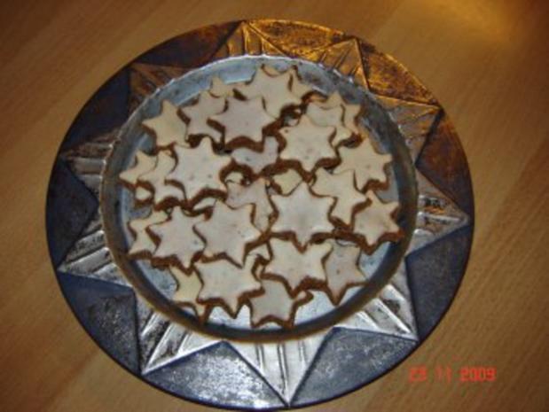 Weihnachtsplätzchen : Zimtsterne - Rezept