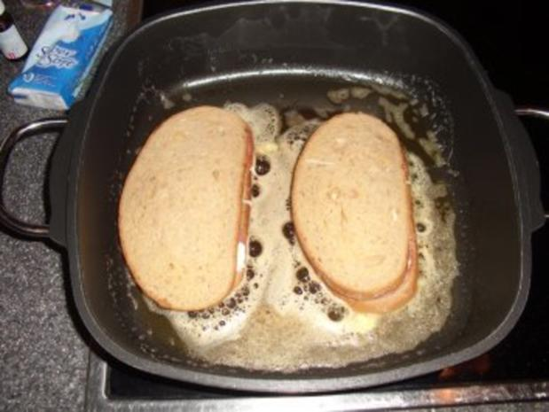 Käse-Salami Sandwich - Rezept - Bild Nr. 3