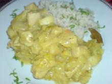 Hähnchen-Curry mit Apfel - Rezept