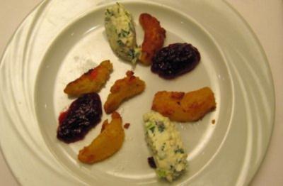 Feurig gebackene Pfirsiche - Rezept