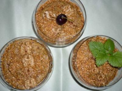 Afrikanisches Pistaziendessert - Rezept