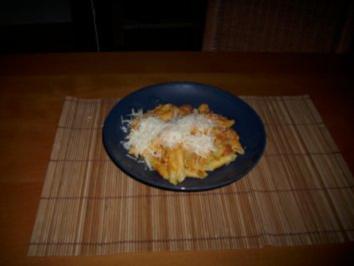 Rezept: Nudeln mit Kürbis-Sahne-Sosse