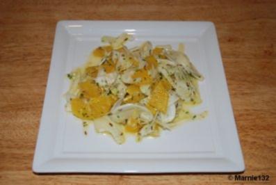 Fenchel-Orangen Salat - Rezept