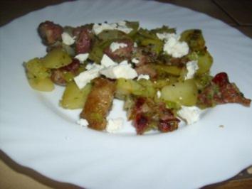 Kartoffel-Kasseler-Pfanne - Rezept
