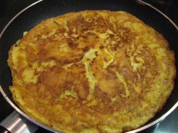 Tortilla de patatas - spanisches Kartoffelomelett - Rezept - Bild Nr. 7