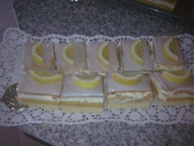 Butterkeks-Zitronen-Schnitten vom Blech - Rezept - Bild Nr. 2