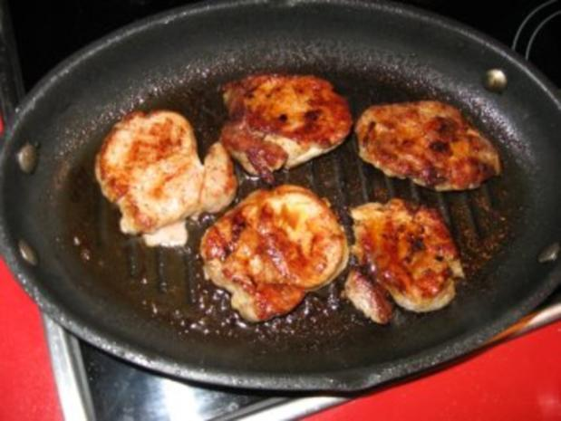 Schweinelendchen auf Kartoffelgratin unter Kartoffelkruste - Rezept - Bild Nr. 6
