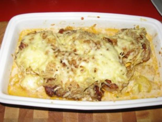 Schweinelendchen auf Kartoffelgratin unter Kartoffelkruste - Rezept - Bild Nr. 11