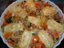 Gemüse-Käse-Gratin - Rezept