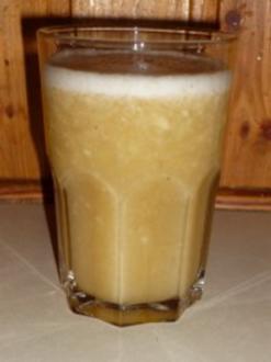 Bananen-Apfel-Shake - Rezept