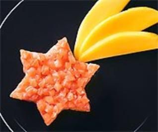 Mango- und Lachstatar - Rezept