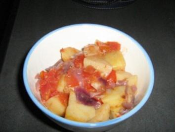 Portugiesische Kartoffeln aus dem Backofen - Rezept