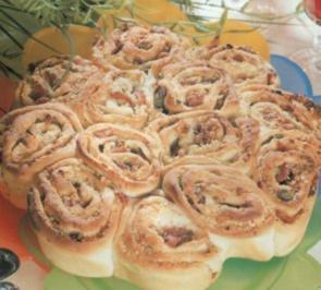 antipasti torta di rose - Rezept