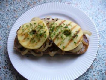 Rezept: Apfel-Leberwurst-Snack