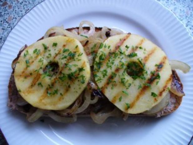 Apfel-Leberwurst-Snack - Rezept - Bild Nr. 9