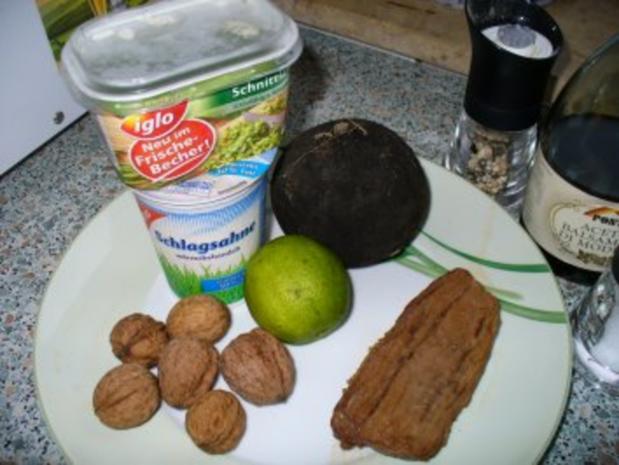 Rettichsalat mit Rindfleisch - Rezept - Bild Nr. 2