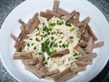 Rettichsalat mit Rindfleisch - Rezept