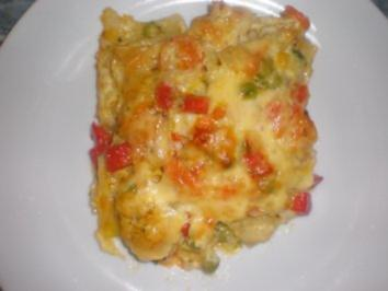 Lasagne mit Gemüse - Rezept