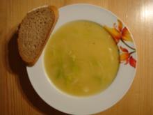 Lauch-Grieß-Suppe - Rezept