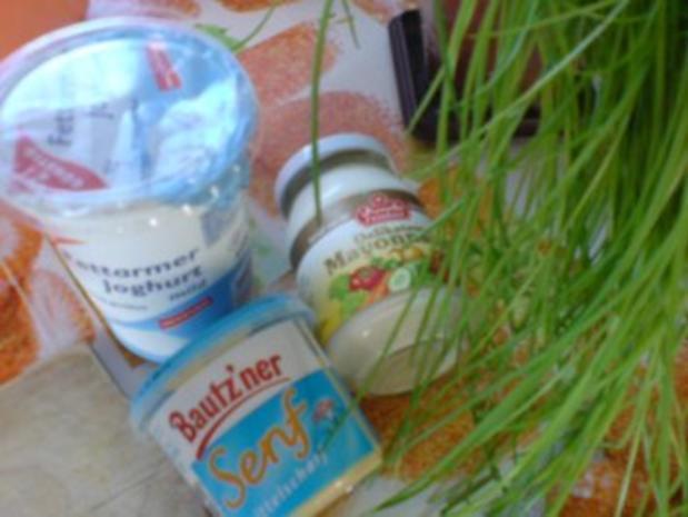 Gemüsebratlinge mit Schnittlauchdip - Rezept - Bild Nr. 16